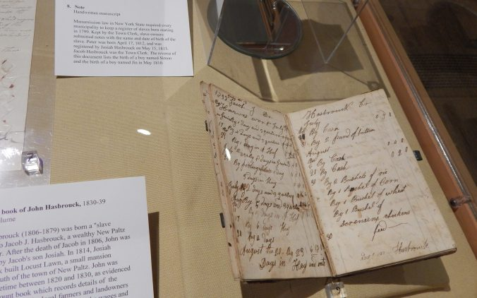 John Hasbrouck's Account Book